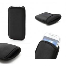 Funda de neopreno diseño exclusivo y calidad premium para - thl w8+ - negro