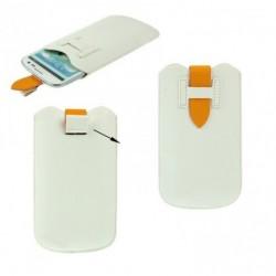 Funda con lazo extraccion y cierre de seguridad para - tianhe w9002 - blanca