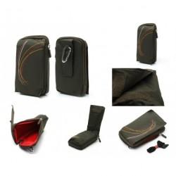 Funda multiusos cinturon y mosqueton para - Tianhe W900 - VERDE