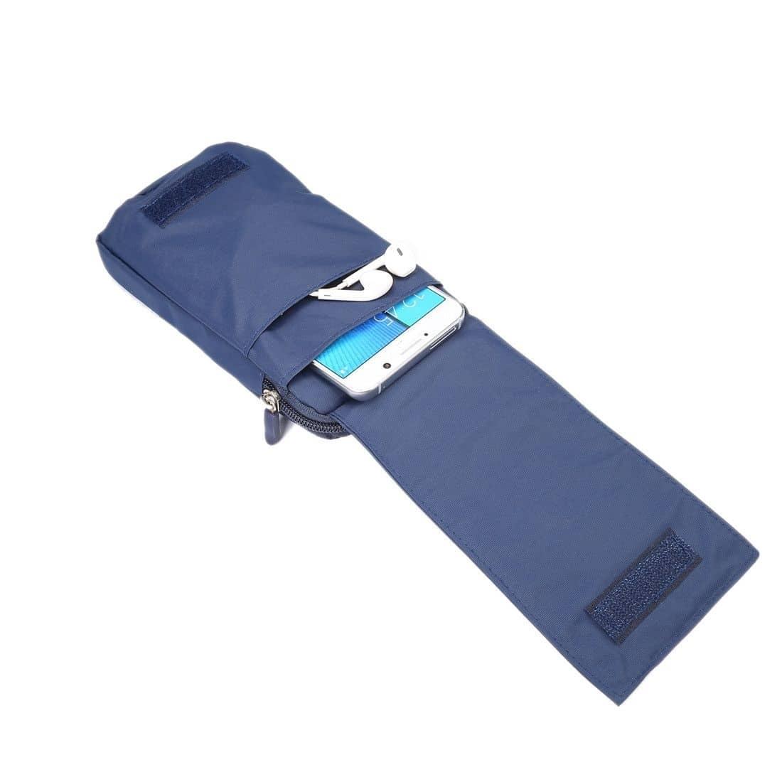 para-NOKIA-E7-Funda-Azul-Multiusos-XXM-18x10cm-Cinturon-Universal