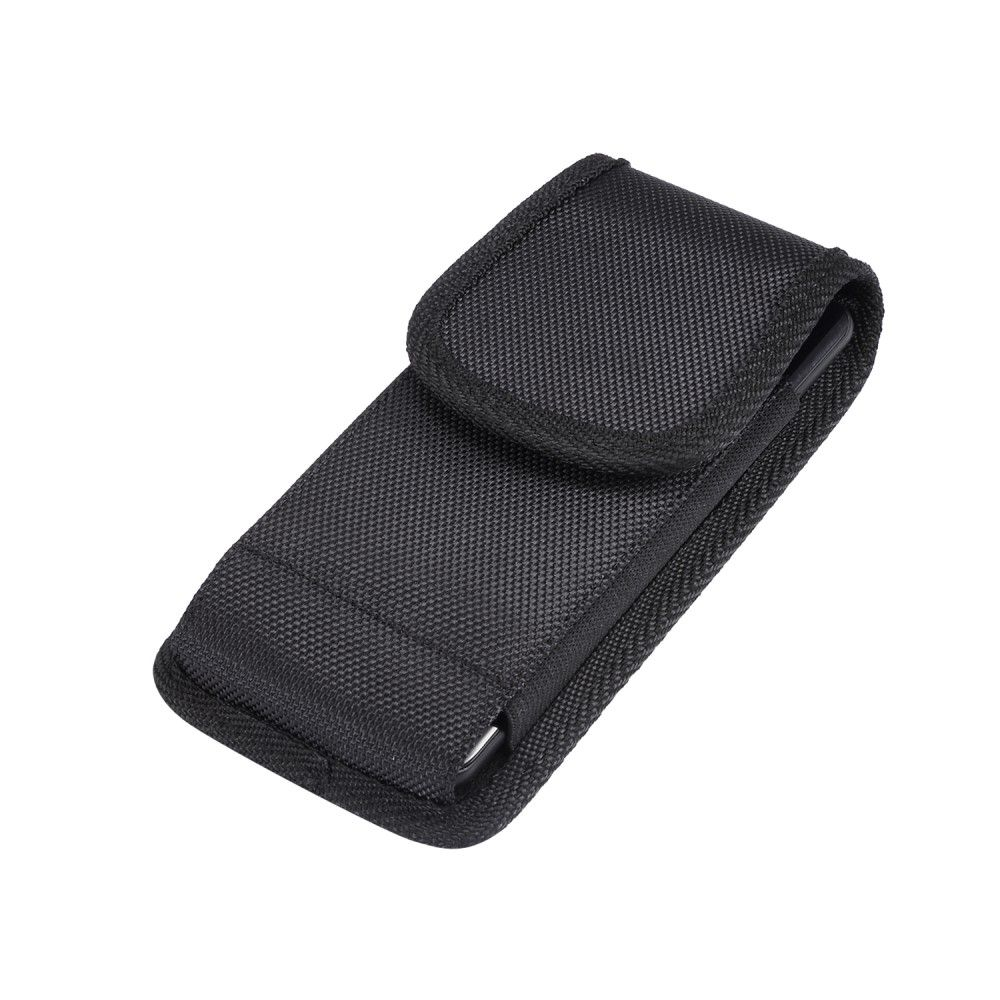 Belt Case Cover Nylon with Metal Clip New Style Business for ADVAN i6C (2019) - Black
