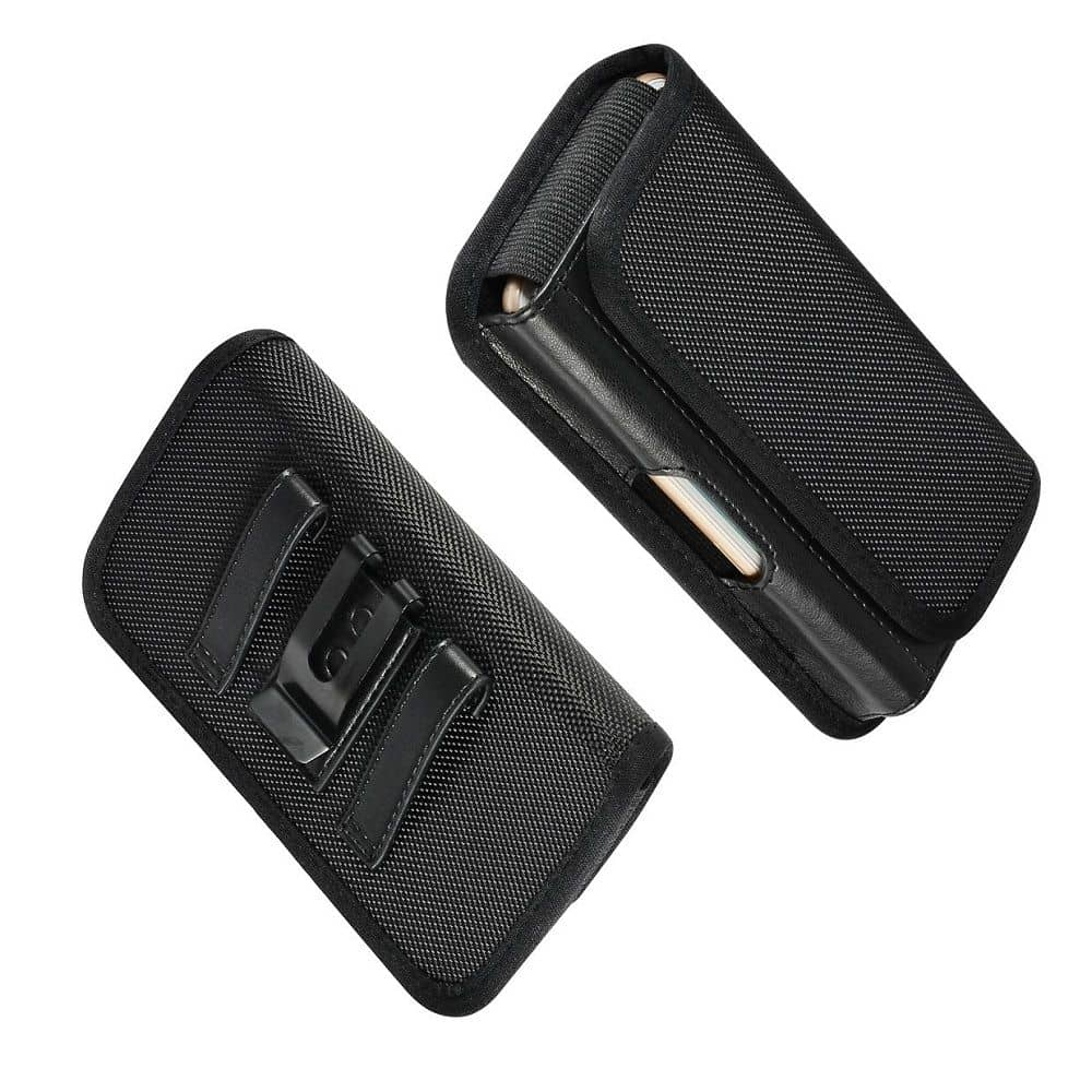 for-Yezz-Andy-5-5M-2016-Metal-Belt-Clip-Holster-with-Card-Holder-in-Textile