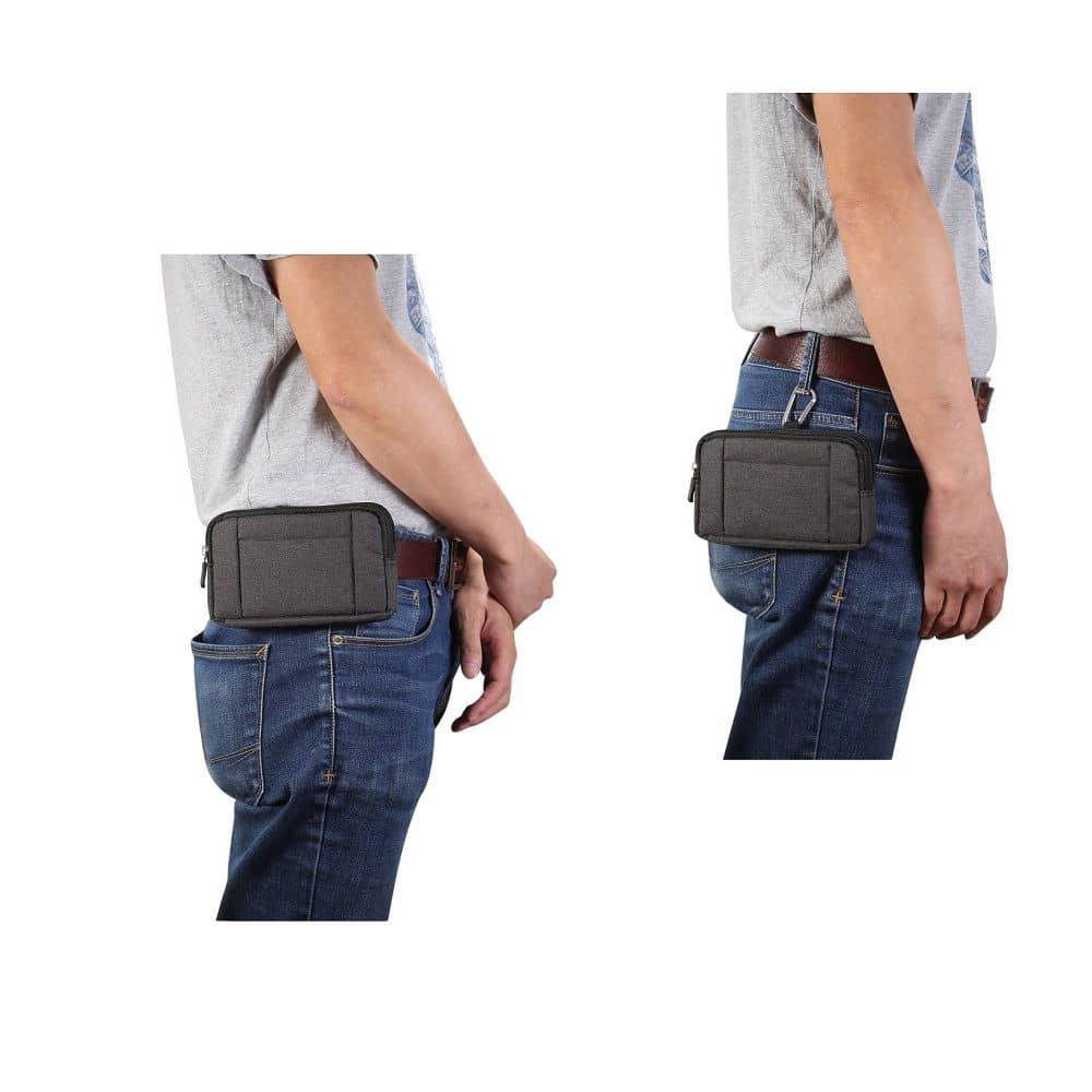 fuer-Cubot-X16-S-X16S-Horizontale-Mehrzweckguerteltasche-Jeans Indexbild 9