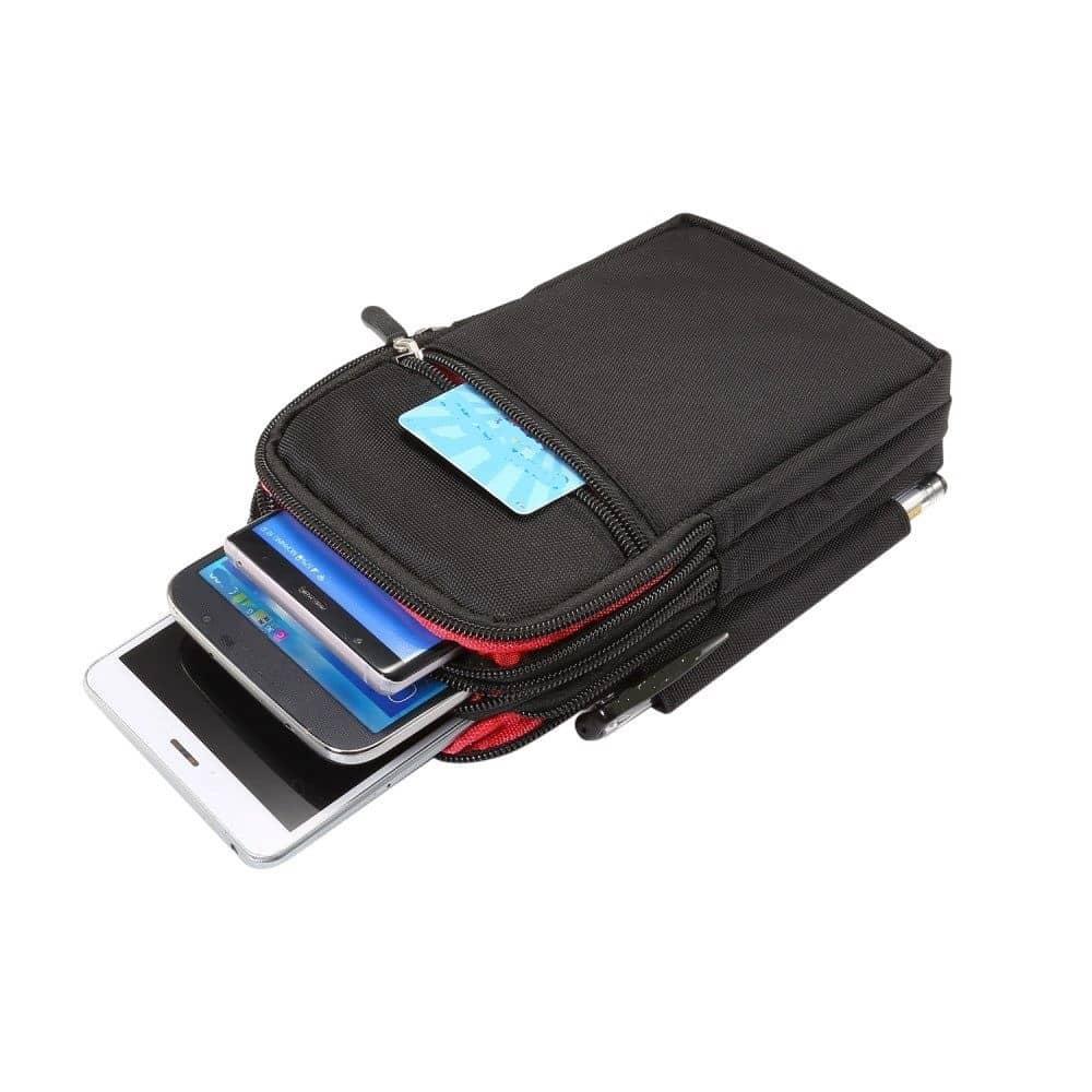 fuer-Nokia-C5-Endi-2020-Etui-Schutzhuelle-Vielgebrauch-mit-4-Faecher-Reissvers