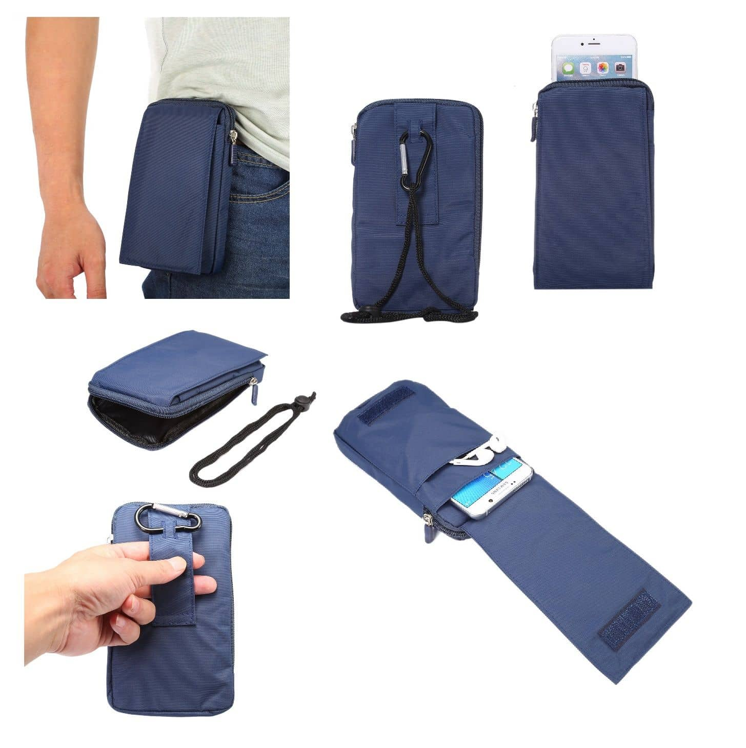Accessories-For-Xiaomi-Redmi-Note-9S-2020-Case-Sleeve-Belt-Clip-Holster-Ar thumbnail 36