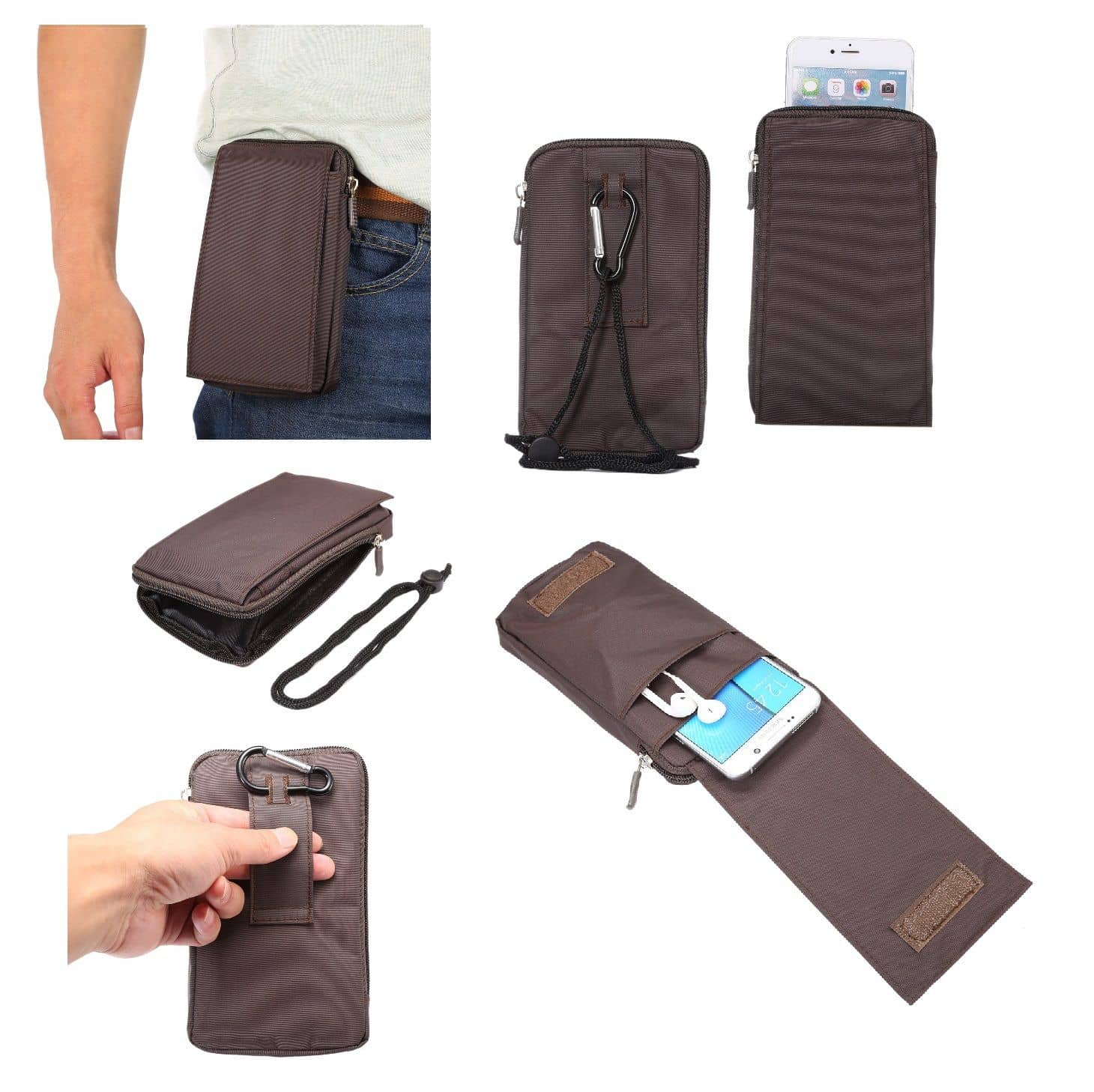 Accessories-For-Xiaomi-Redmi-Note-9S-2020-Case-Sleeve-Belt-Clip-Holster-Ar thumbnail 45
