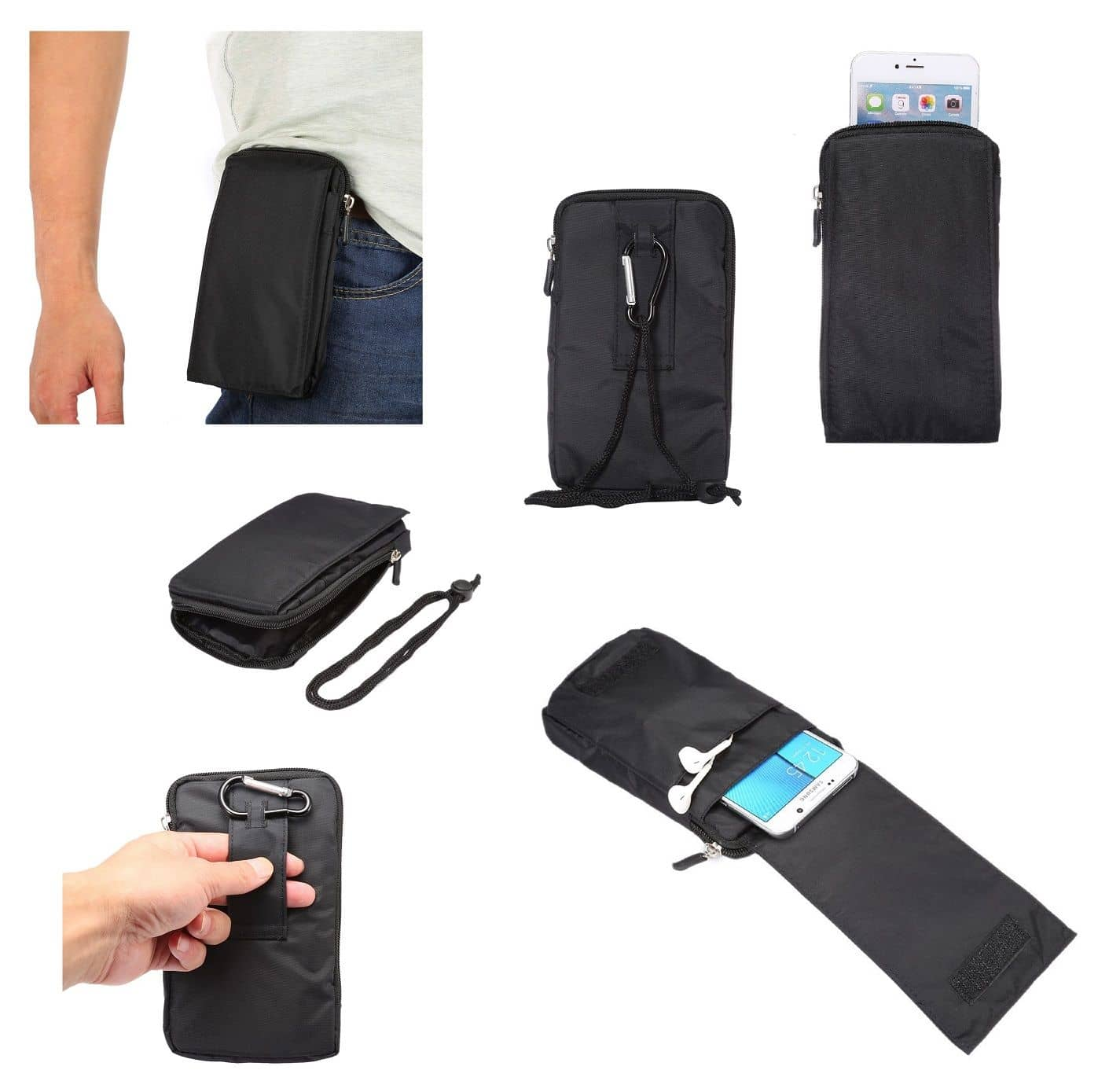 Accessories-For-Xiaomi-Redmi-Note-9S-2020-Case-Sleeve-Belt-Clip-Holster-Ar thumbnail 54